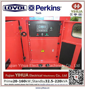 générateur 50kw/62.5kVA silencieux diesel avec du ce Approval-20170831A d'engine de Lovol-Perkins