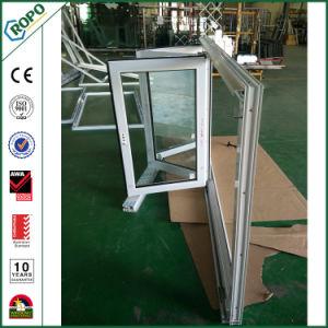 PVC/UPVC het Venster van de Vouwen van Bi van de Dubbele Verglazing van vensters