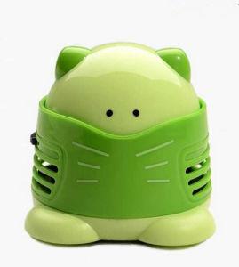 Mesa de plástico Mini Aspirador Robot limpiador de polvo mesa portátil