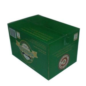 24 caixas de embalagem de papel dos frascos de cerveja