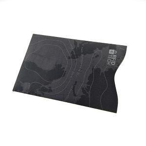 서류상 Cresit 카드 소매 여권 홀더를 막는 반대로 눈물 RFID