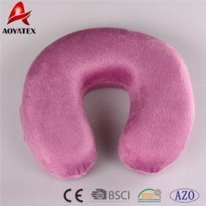 100%年のポリエステル極度の柔らかいメモリ泡のU形のクッション