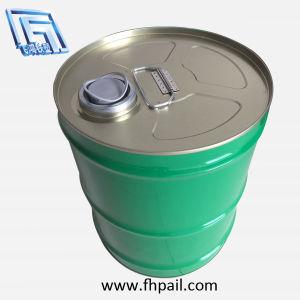 20L 5ガロンの錫のパーム油のオリーブ油のヒマワリの種オイルのための鋼鉄バケツのドラム