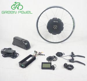 Juego de ruedas de bicicleta eléctrica Greenpedel 48V 1000W Bicicleta Motor sin escobillas Hub