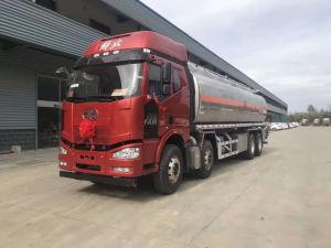Camion del trasporto del serbatoio di combustibile dei carrai 35000L di FAW 12, camion di consegna del combustibile sulle vendite