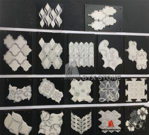 Pour les murs de pierre de marbre en mosaïque / Médaillon des tuiles de plancher de la décoration de l'eau
