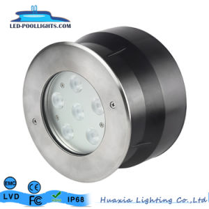 RGBの白いステンレス鋼LEDの水中プールライト