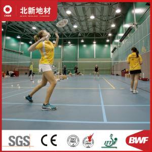Professionnels de la feuille en PVC laminés pour les sports Badminton