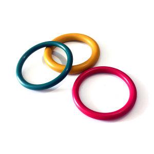 Qualitäts-staubdichter Kreis-Hersteller-Großverkauf-Schwarz-O-Ring