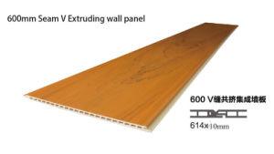 La qualité classique en bois mur composite en plastique WPC Panneau intérieur (A082)