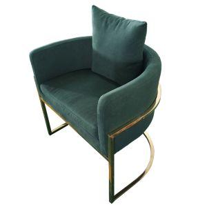 2018新しい到着の緑色現代ファブリック椅子(3#)