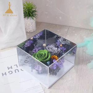 Китай ведущих акриловые цветы в салоне поставщика