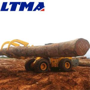 De Lader van het VoorEind van het hout de Prijs van de Aanhangwagen van de Lader van het Logboek van 12 Ton