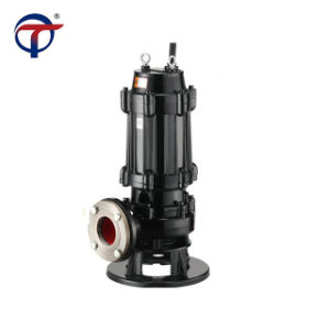 Electrique étage unique de la pompe d'eaux usées pour l'eau sale
