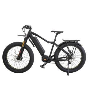 Los neumáticos de la grasa de la batería de litio bicicleta eléctrica con motor de accionamiento de media