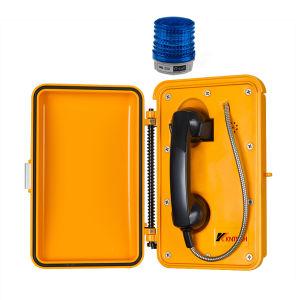 Telefono Emergency impermeabile Analogue della stazione telecontrollata della fine nastro