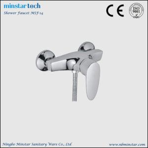 亜鉛合金のシャワー・ヘッドのない物質的な単一のレバーハンドルの浴室のシャワーのミキサー
