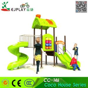 Ejplay Slide de plástico de alta qualidade equipamentos de playground infantil exterior brinquedos do parque de diversões para crianças deslize Parque infantil
