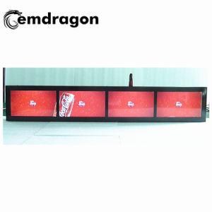 Appui-tête de taxi de 5 pouces Ad infrarouge écran vidéo de qualité support USB CF/carte SD de la publicité La publicité de joueur de la promotion de la signalisation numérique LCD