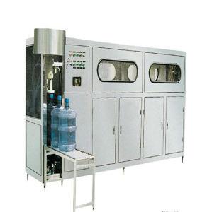 Gallon aucun gaz de l'eau automatique machine d'emballage de remplissage
