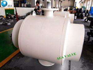 La caja de engranajes de acero al carbono criogénicos operado muñón del extremo de la soldadura montados todos los soldados de la válvula de bola