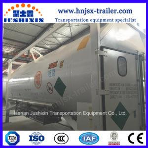 ISO 20 Pés T75 Liquid Argon Lin/Lox Recipiente do depósito de Gás