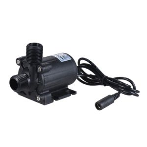 OEM 12V CC sans balai de levage de la circulation de l'Agriculture 3m Cascade pompes amphibie pour fontaine 800l/h de débit