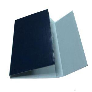 Pas het Vakje van de Gift van het Vakje van het Boek van het Karton voor Levering aan