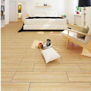 Ontwerp van de Plank van het Bouwmateriaal verglaasde het Houten de Ceramische Tegel van de Muur en van de Vloer