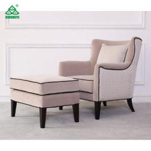 Приятный дизайн мягкой один диван с Османской ткани для