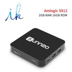 Sunnzo G8 mini androider intelligenter Fernsehapparat-Kasten mit Amlogic S912 2GB Memory/16GB Speicher-Support 4K, WiFi gesetzter Spitzenkasten