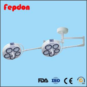 Doble cabeza Quirófano Luz de funcionamiento con Ce (YD02-5+5 LED).