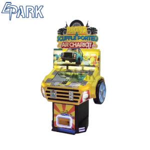 Het Rennen van het Spel van het Vermaak van de Jonge geitjes van de Blokkenwagen van AR de DrijfMuntstuk In werking gestelde Machine van het Spel