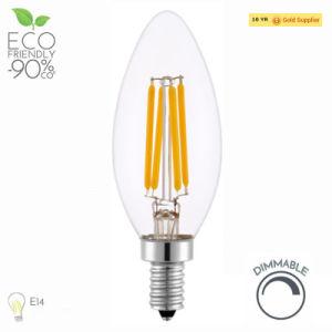 4W E14 lustre a Lâmpada Vela LED