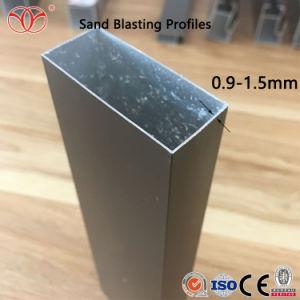 Perfil de aluminio para vidrio