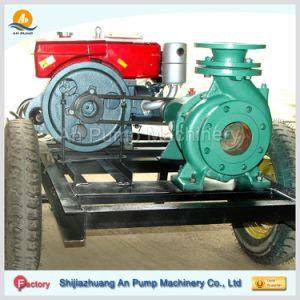 Сельскохозяйственных Одноступенчатый 6 дюймовый портативный Tailer дизельного двигателя водяного насоса