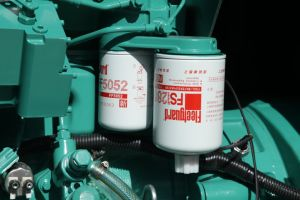 125kVA電気発電機100kwの無声ディーゼル発電機