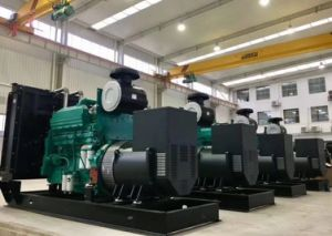 Mtuのディーゼル機関を搭載する無声ディーゼル発電機