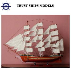 Modelo de velero de madera para la venta