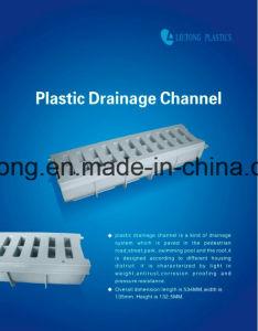 Het plastic Kanaal van de Drainage pvc-u