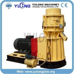 平らな300-1500kg/Hは木または供給の餌の製造所を停止する