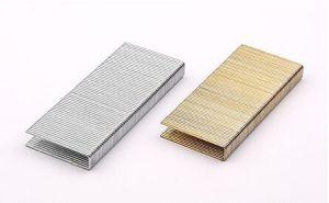 N 100 Van het Ijzer staal van de Hardware van het Bevestigingsmiddel van de Spijkers van Nietjes 16ga Industrie die Gediplomeerd Meubilair Gezamenlijke Gegalvaniseerde ISO9001 ISO14001 gebruikt