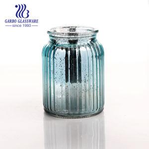 めっきされた装飾(GB46331000H-P4)が付いている小さい順序のガラスビン
