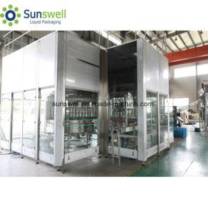 Bebidas Carbonatadas Sunswell Soprando Combiblock Capping de Enchimento