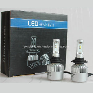 luz auto de la lámpara 4000lm LED de la linterna H7 Csp LED del bulbo 6500k S2 LED de 36W LED para la motocicleta del coche