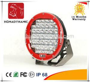 Alquiler de luz LED rojo/negro 9 Ronda 96W de luz LED de Trabajo cree Offroad 4x4 LED de luz y la conducción de la luz automática