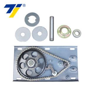 Motor de la puerta eléctrica DC Motor de la puerta de rodadura del obturador con control remoto