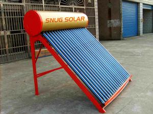 Chuveiro caseiro aquecedor solar de água de aço de cor