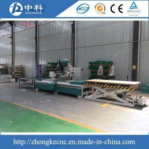 Descarga de Carregamento Automático 12 pedaços de madeira dos Cortadores de Router CNC de trabalho