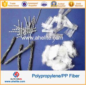 Polypropyleen pp Monofilament Fiber voor Concrete Reinforcement 6mm 12mm 18mm